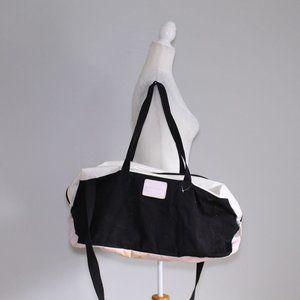 Victoria's Secret Vinyl Gym Duffle Bag Weekender